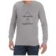 Normal Paranormal (Grey) long sleeve shirt