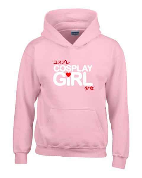 cosplay girl ladies hoodie
