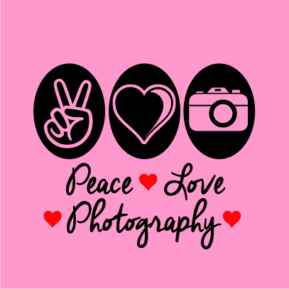 peace love photography light pink