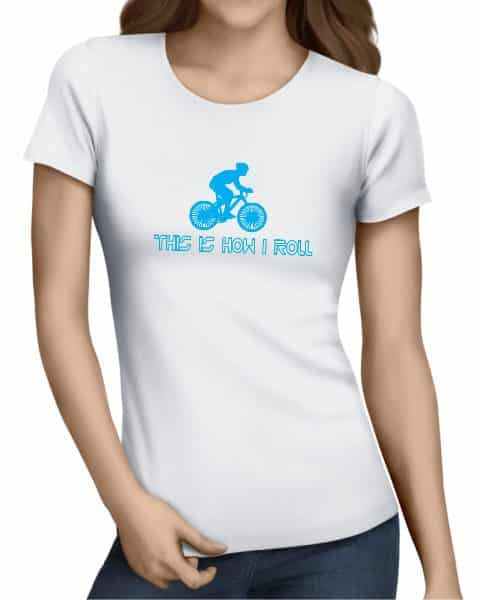 this is how i roll ladies tshirt