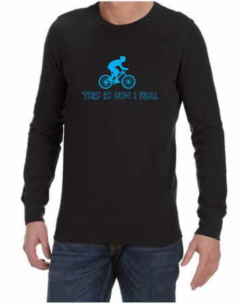 this is how i roll mens long sleeve shirt
