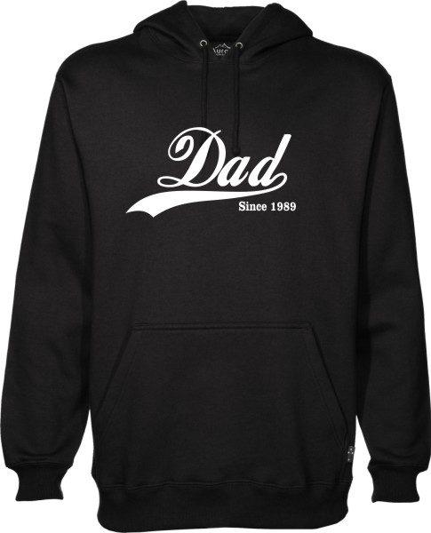 Dad Since Black Hoodie