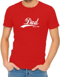 Dad Since Red Shirt