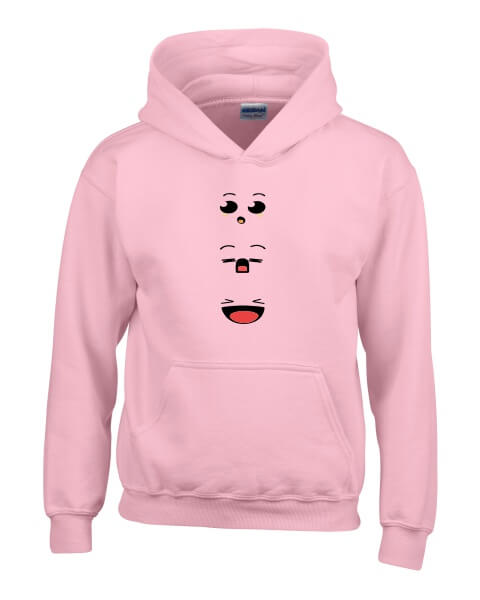 Anime faces ladies hoodie