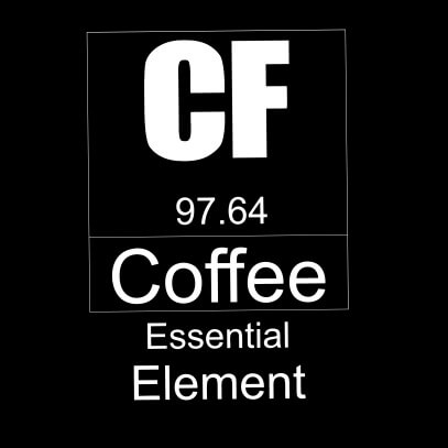 Coffee essential element black
