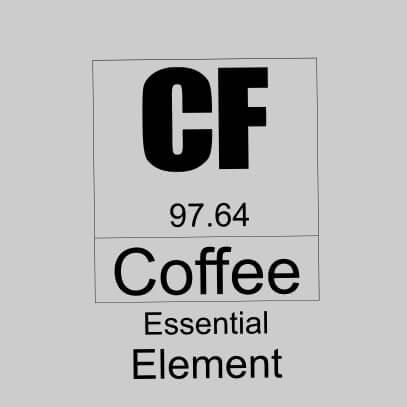 Coffee essential element grey