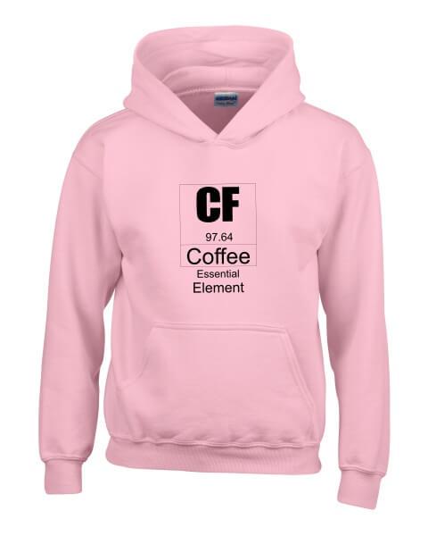 Coffee essential element ladies hoodie