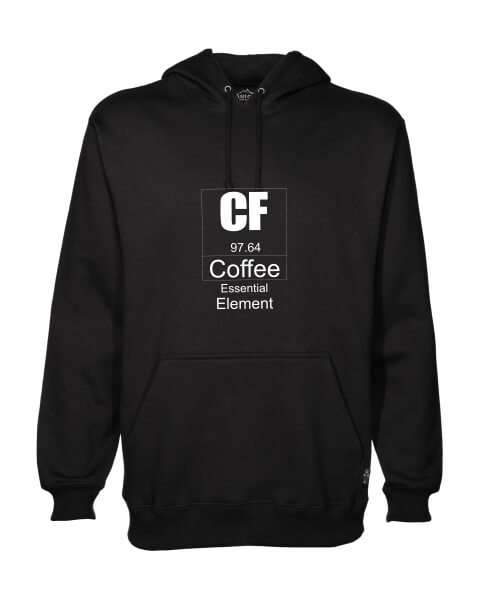 Coffee essential element mens hoodie