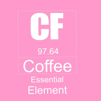 Coffee essential element pink