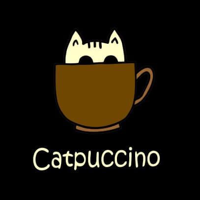 Catpuccino black
