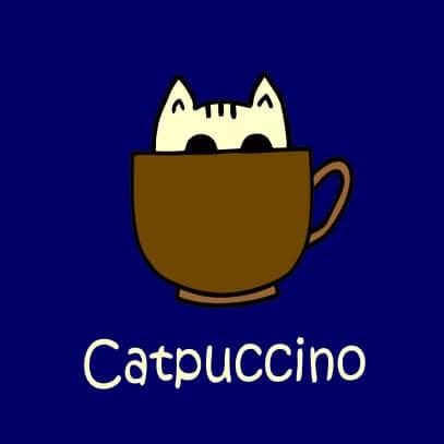 Catpuccino dark blue