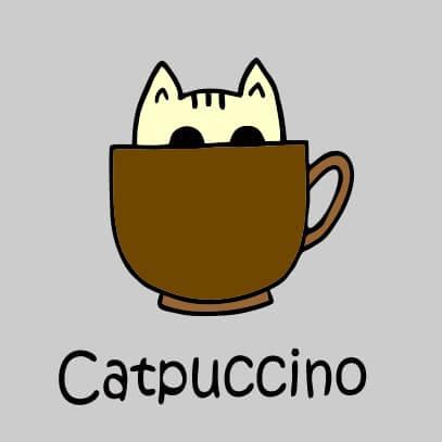 Catpuccino grey