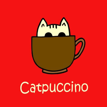 Catpuccino red