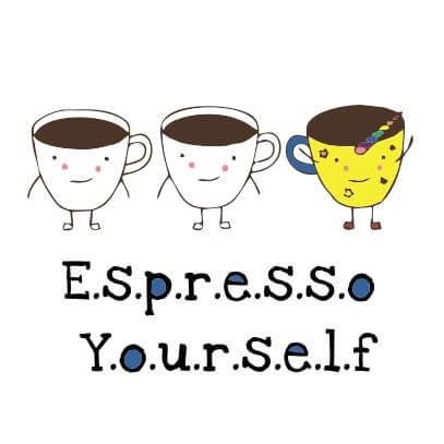 Espresso yourself White