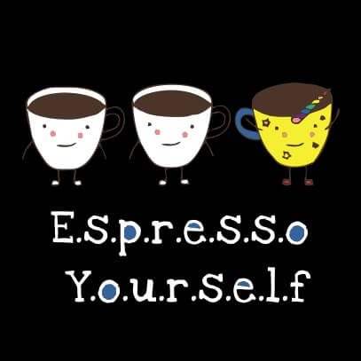 Espresso yourself black
