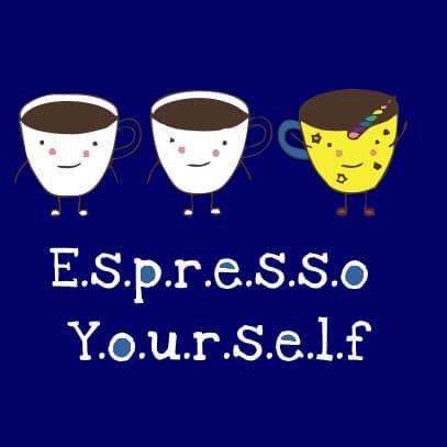 Espresso yourself dark blue