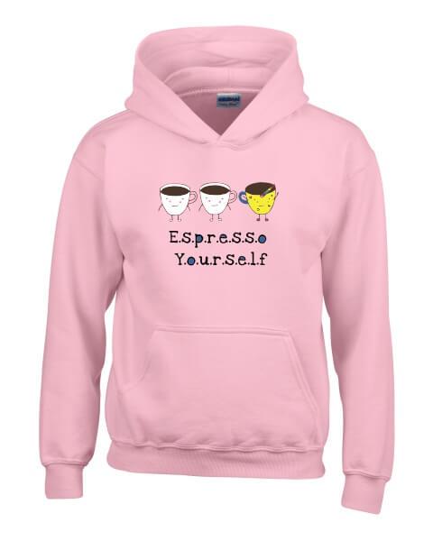 Espresso yourself ladies hoodie
