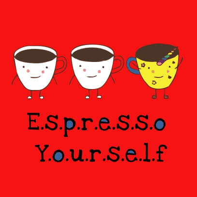 Espresso yourself red