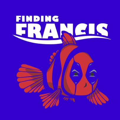 Finding Francis light blue