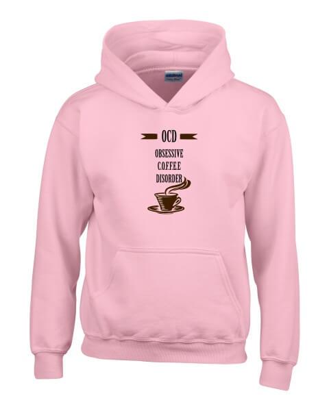OCD coffee ladies hoodie