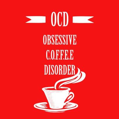 OCD coffee red