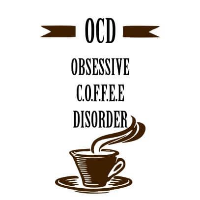 OCD coffee white