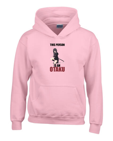 This person is an Otaku ladies hoodie