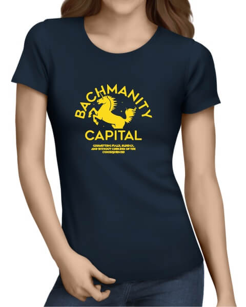 Bachmanity Capital ladies short sleeve shirt