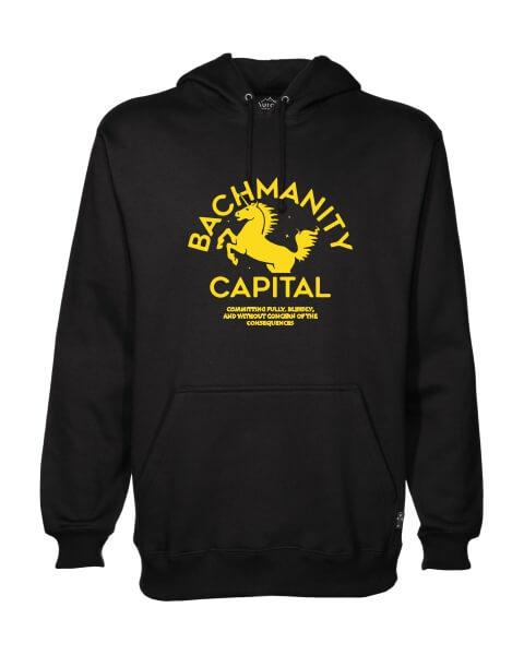 Bachmanity Capital mens hoodie
