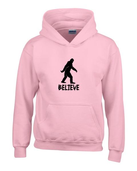 Believe ladies hoodie