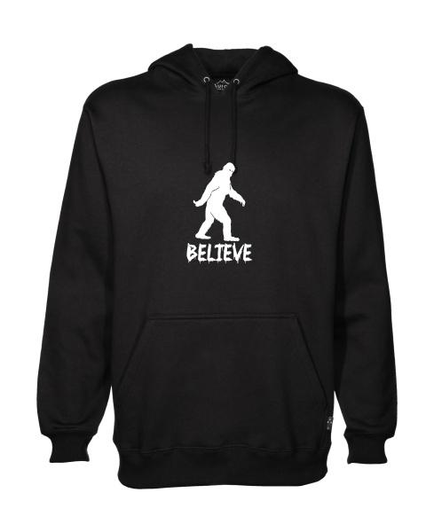 Believe mens hoodie