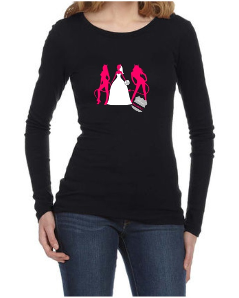Bride Security ladies long sleeve