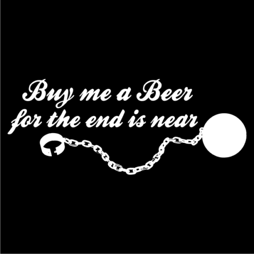 Buy Me A Beer Black