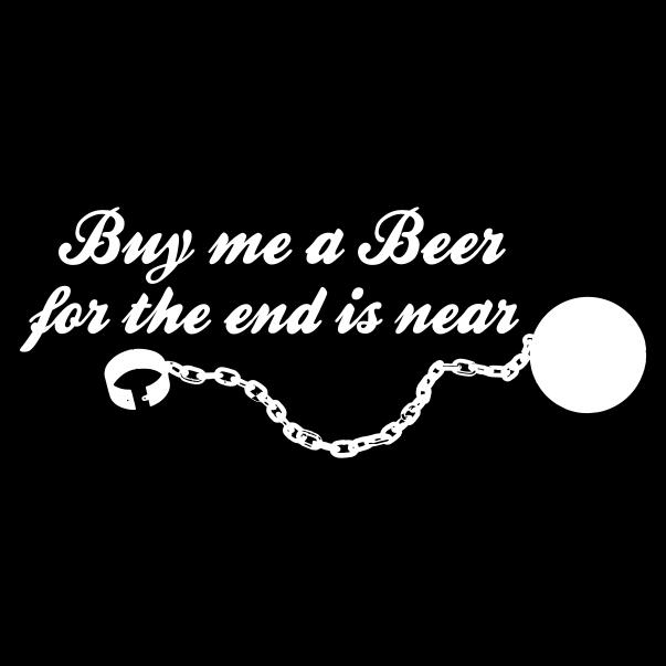Buy Me A Beer Black