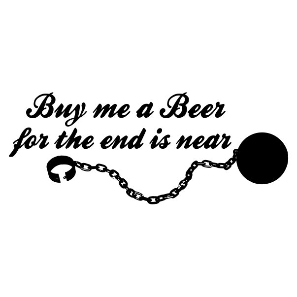Buy Me A Beer White