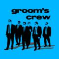 Grooms Crew Azure Blue