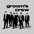 Grooms Crew Grey