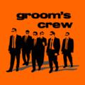 Grooms Crew Orange