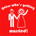 Guess Who_s Getting Married Red
