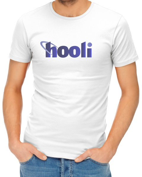 Hooli mens short sleeve shirt