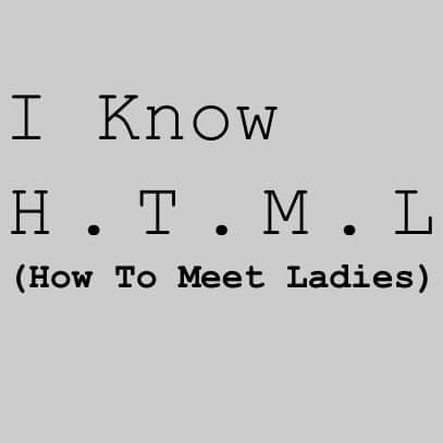 I know HTML grey