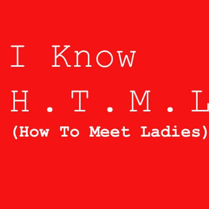 I know HTML red