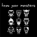 Know Your Monsters Black