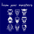 Know Your Monsters Navy