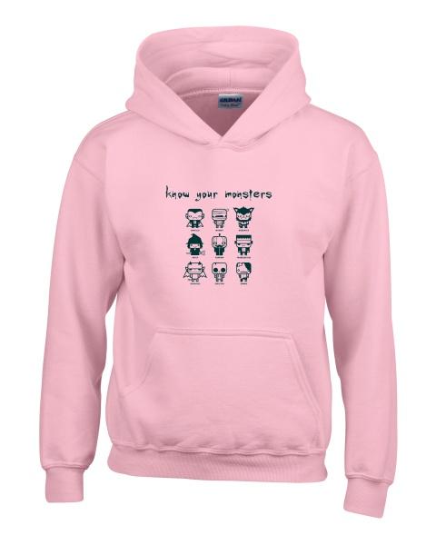 Know Your Monsters ladies hoodie