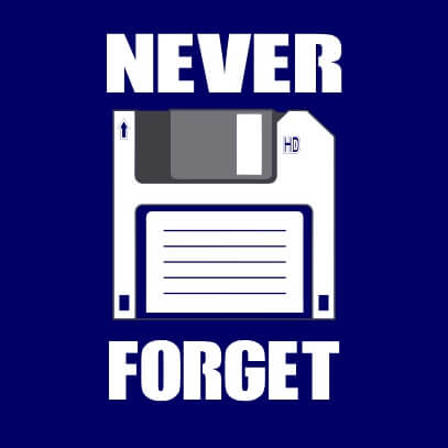 Never Forget dark blue