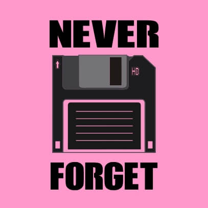 Never Forget pink
