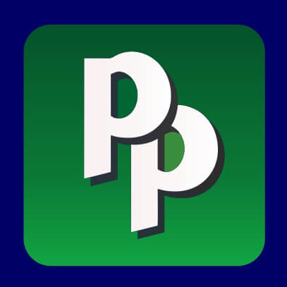 Pied Piper logo dark blue