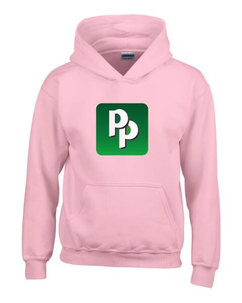 Pied Piper sign ladies short hoodie