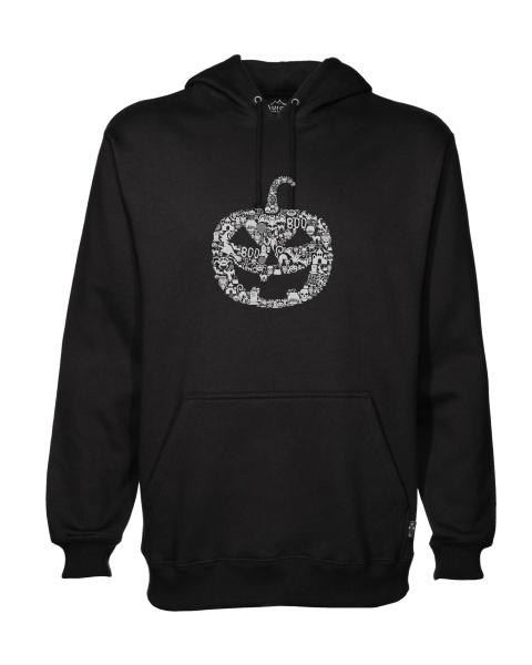Pumpkin Face mens hoodie